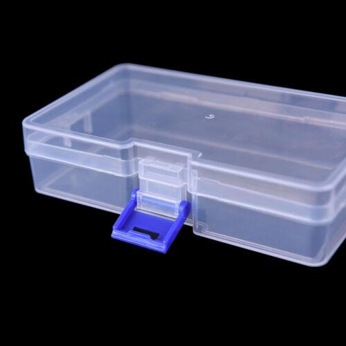 Transparenter Fischereiköder-Gerätehakenköder-Plastikaufbewahrungsbehälter  AB