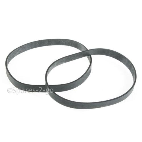 2 x disque courroies de Genie GUV-01 guv 01 pour aspirateur Hoover MOTEUR ceinture V26