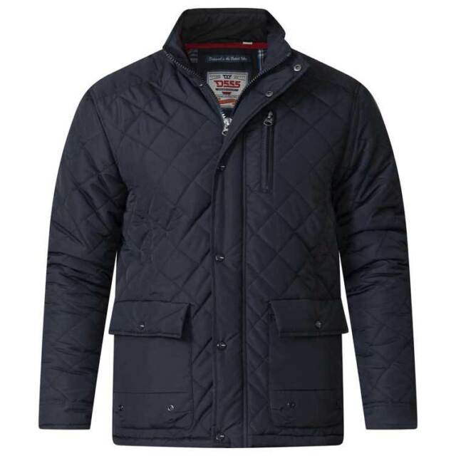 Men/'s Big Size Quilted Padded Winter Jacket//Coat  2XL 6XL