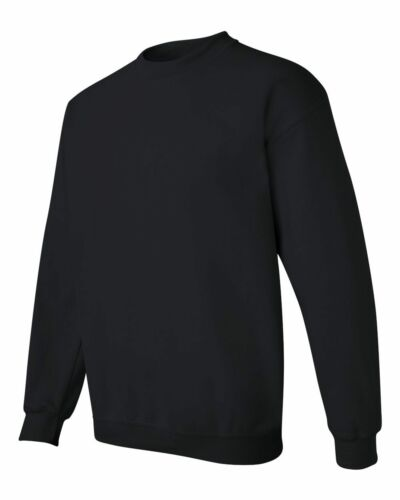 10 Gildan Heavy Blend Black Sweatshirt G180 Blank Bulk Lot Wholesale S M L XL