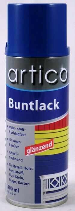 6,23 €/L Artico verni-Spray 400 ml Différentes Couleurs Brillant Brillant Brillant Haute Opacité 070506