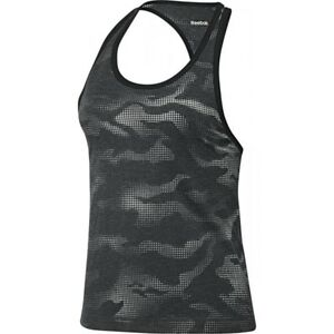 New-Reebok-Sleeveless-Vest-Tank-Top-Black-Ladies-Womens-Gym-Training-Fitness