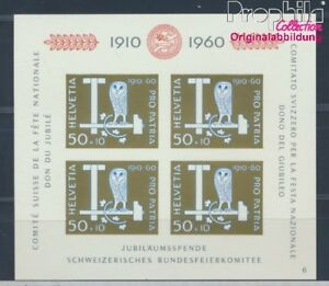Schweiz-Block17-postfrisch-1960-Pro-Patria-8532485