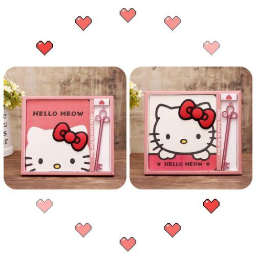 Hello kitty Memo+Pen Gift Set Girl Women Notebook Birthday Anniversary Diary