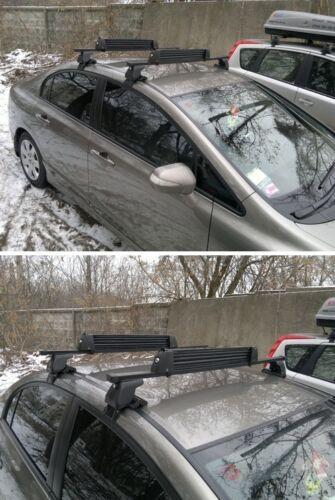 BMW 7 Series E38 Saloon Roof Bars D-1 Lock 130cm 94-01 Pair of