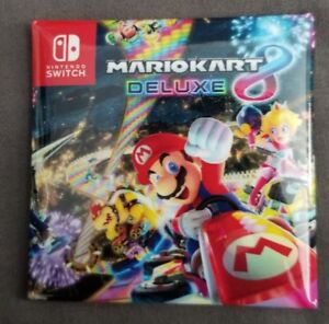 Details About 2018 Sdcc Comic Con Nintendo Switch Mario Kart Deluxe 8 Button Pin
