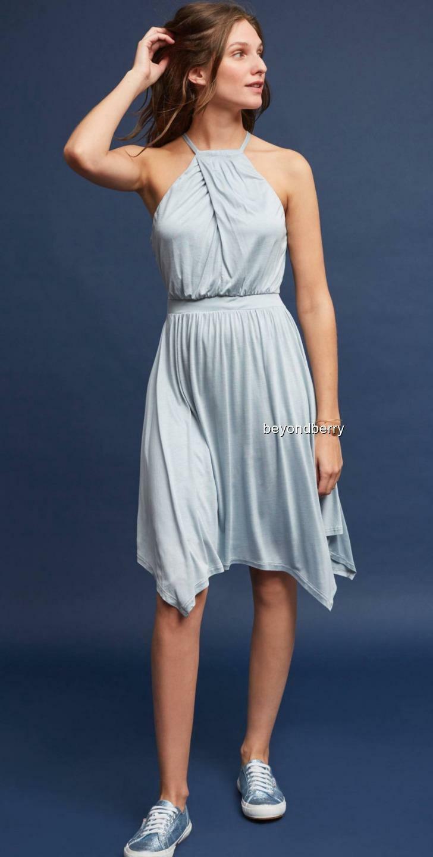 NEW Anthropologie Rochelle Halter Mini Dress by Moulinette Soeurs  Größe M