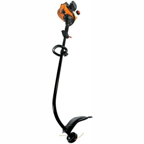 Remington 25 cc 2 cycle 17 in Curved Shaft Gas String Trimmer Lightweight
