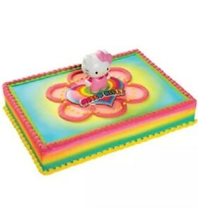 Image Is Loading NEW HELLO KITTY Cake Kit LIGHT