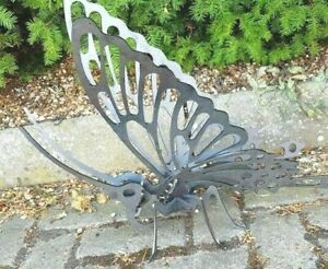 3D Butterfly Mild Steel - Large