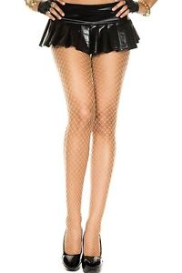 8d0332a3e71 Image is loading MINI-DIAMOND-Fishnet-Tights-PANTYHOSE-Seamless-Crossdresser -DRAG-