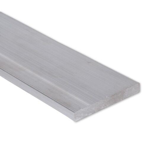 """1//2/"""" x 4/"""" Aluminum Flat Bar 6061 Plate 0.5/"""" 8/"""" Length T6511 Mill Stock"""