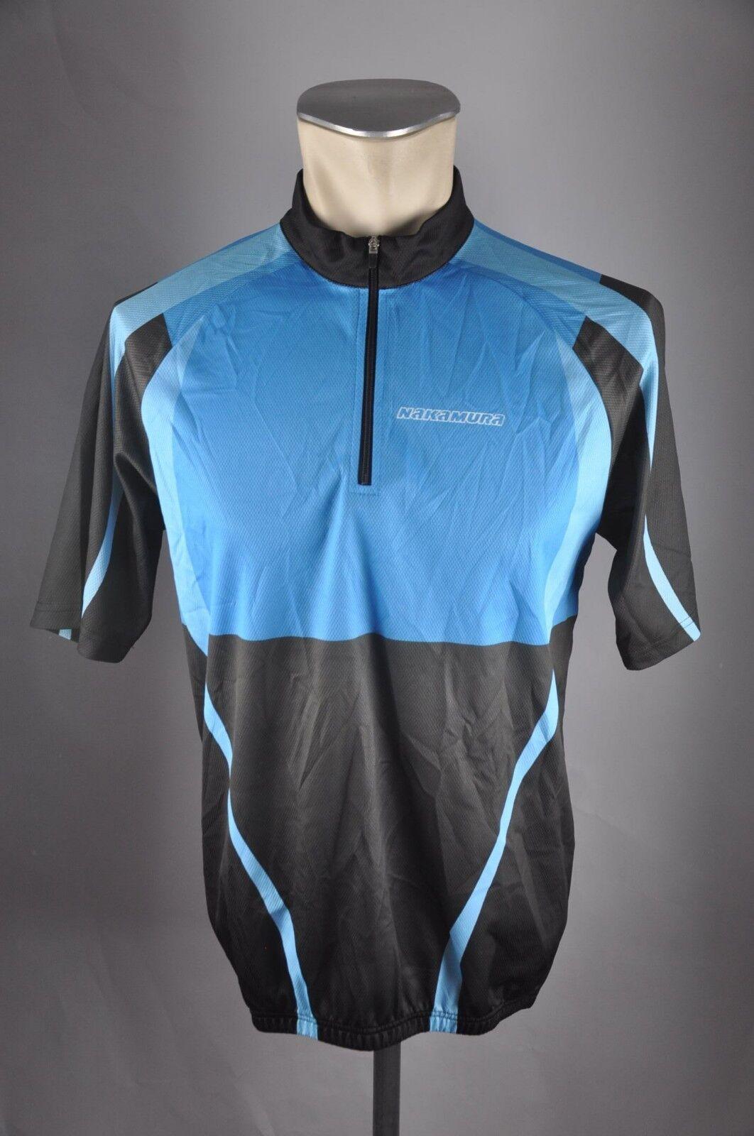 Nakamura rueda camiseta camiseta camiseta radtrikot talla L 53cm bike Cycling Jersey camisa d3 eb32bf