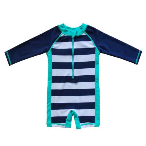 -Sun Protective Sunsuit New Baby Beach One-Piece Swimsuit UPF 50