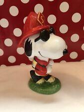 1998 Peanuts Snoopy Firefighter Fireman Turnout Gear Hose /& Oxygen tank