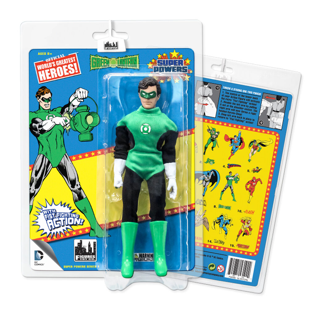 Super Powers Retro Style Action Figures Series 3  Green Lantern by FTC