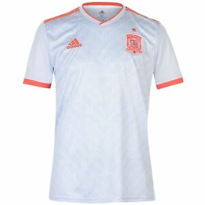 Adidas Men s Spain World Cup 2018 Football Away Jersey Soccer Shirt ... 5844cd28d