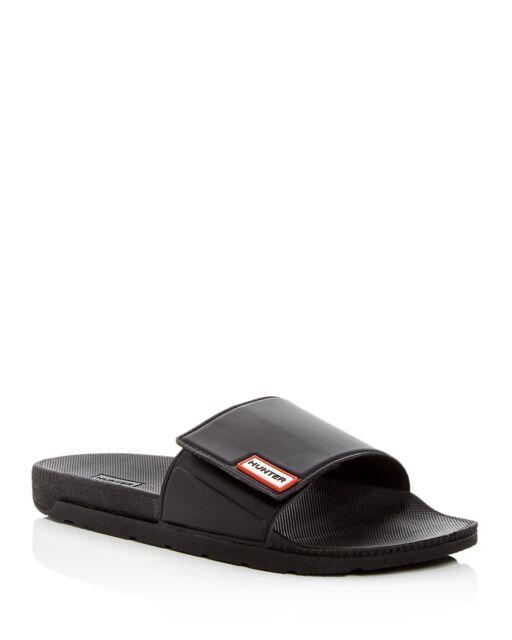 Adjustable 7 Black Hunter Women's Original Shoes Slide Sandals Size Pool e29HEDYWI