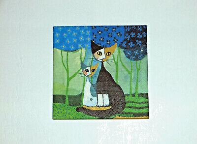 Fliese Geschenk Cats Kachel Katzen 7 Rosina Wachtmeister Bild Deko