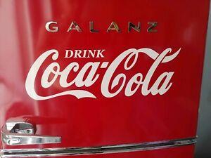 Coca-Cola decal sticker 24inch WHITE coke *easily applied*