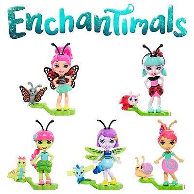 Enchantimals Saxon Snail /& Dara Dragonfly Micro Dolls 2-Pack BRAND NEW 2019