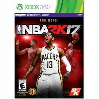 Xbox 360 Nba 2k17 17 2017 Basketball Paul George Sealed Region Free Kinect