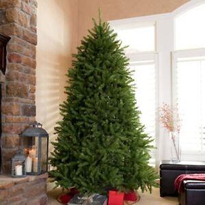 National Tree Company 7.5' unlit Dunhill Fir Artificial Christmas ...