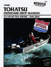 Tohatsu Marine 2.5-140hp 1992-2000 Outboard Motor Shop Repair Service Manual