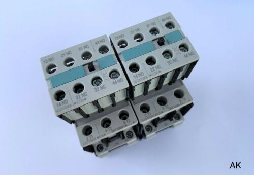 3RH1921-1HA22 2 Stück Siemens 3ZX1012-0RT02-1AA1 Schütz-Contactor