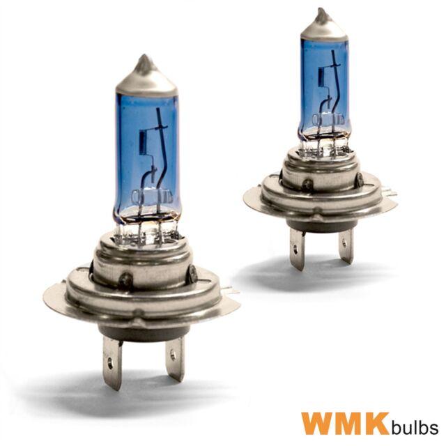 For Saab 9-3 2003-2007 High Main Beam H7 Xenon Headlight Bulbs Pair Lamp