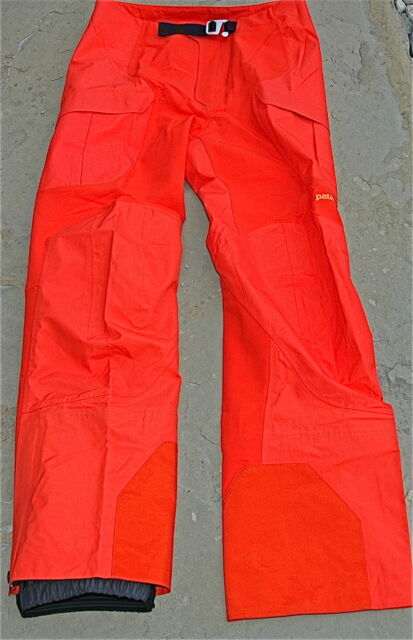 Patagonia Men's Mixed Guide Alpine Climbing Pants Orange Size 38 $299.00 Retail