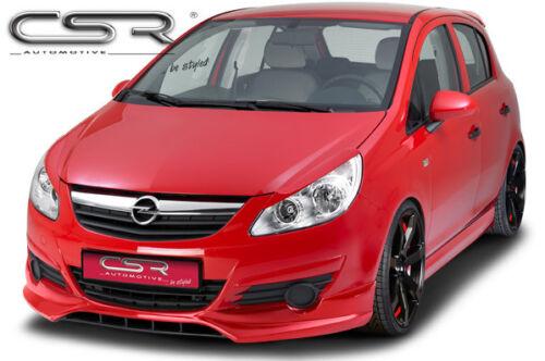 160µm noir mat Seuil Lackschutz aluminium pour Opel Corsa E