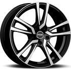 Cerchi in lega PSW Nevada 8x19 5x112 Et35 Mercedes E-klasse Black Diamond B35