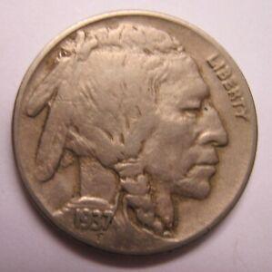 1937-D-3-Legged-Buffalo-Nickel-VF