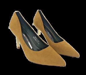 Mustard Womens Shoes Size 4 High Heels