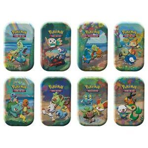 Pokemon Celebrations Mini Tins Set of 8 Presell Free Shipping! Presell November