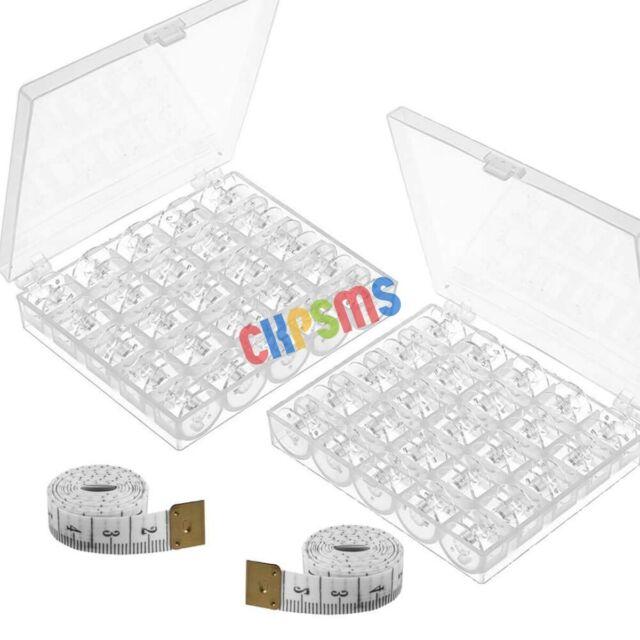 Box of 25PCS #4125615-45 Clear GREEN Bobbins FIT FOR Viking Husqvarna White Home CKPSMS brand