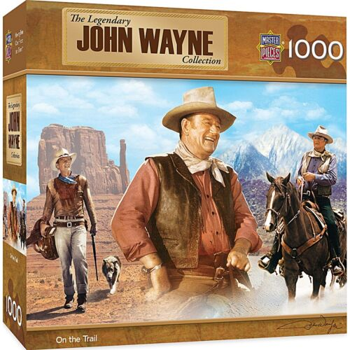 John Wayne On The Trail 1000 Teile Puzzle 680mm x 490mm Mpc