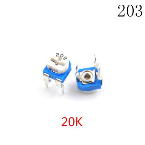 20pcs RM065 RM-065 Trimpot Trimmer Potentiometer Variable Resistor YH