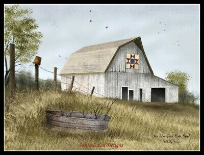 The Christmas Barn Counted Cross Stitch Patterns Needlework Diy Chart