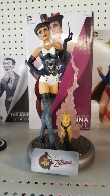 ZATANNA BOMBSHELL STATUE BY DC COLLECTIBLES