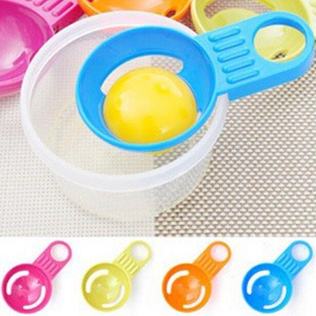 3Pcs egg yolk egg white separator yolk divider utensil sieve egg yolk separator