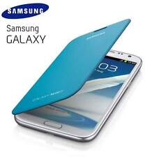 Samsung Galaxy Note 2 N7100 Genuine Flip Cover Case Light Blue - EFC-1J9FBEGSTD