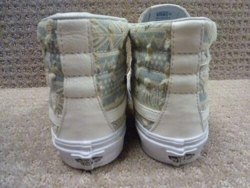 hi Hombre Sk8 True Zapatos deshilachado Entallado Blanco Vans size Nativo ZgfSq