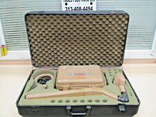 Subsite 75t 75r Underground Utility Cable Pipe Locator With Clamp Amp Case Used