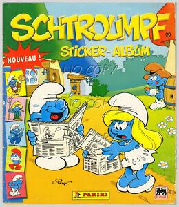 SCHTROUMPF STICKER ALBUM panini 2008 COMPLET avec toutes les images
