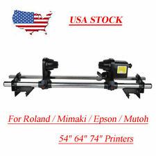 54 Auto Media Roller Paper Take Up Reel System For Roland Sp540 Sp540v Vp540