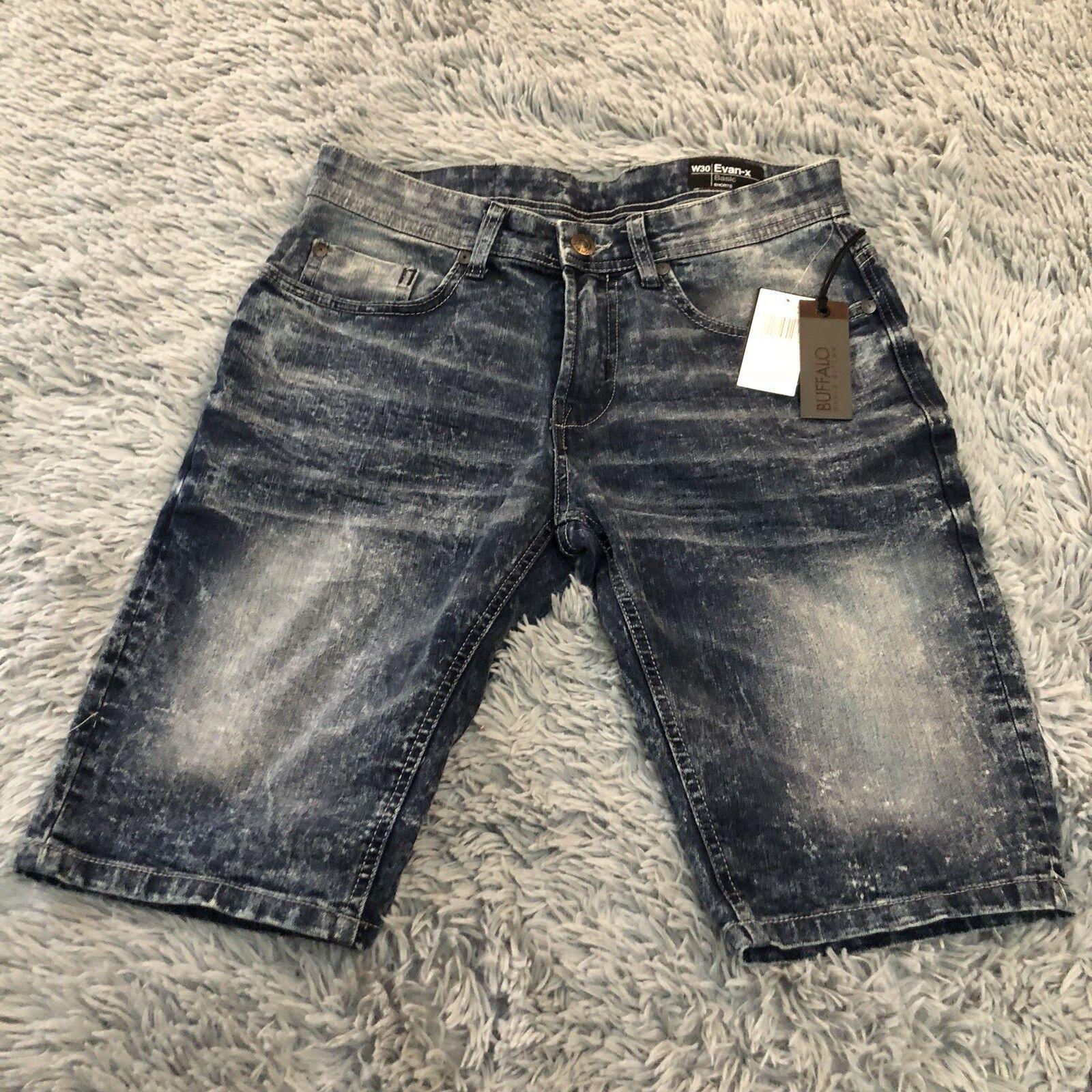 Buffalo David Bitton   Evan-X bluee Denim Shorts   Sz 30