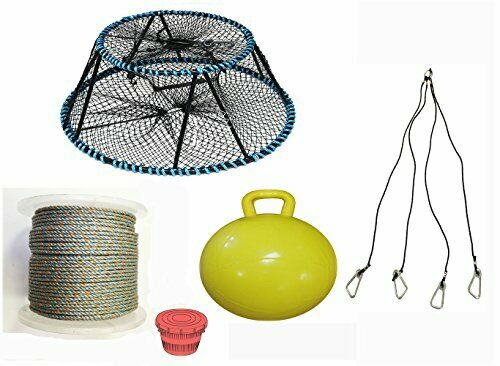 KUFA Sports Tower Style Prawn trap & Accessories combo CT130+PAL5+HA5)