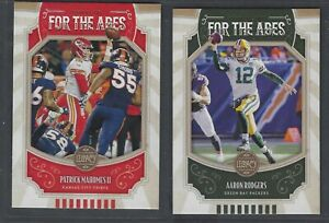2019 Panini Legacy FOR THE AGES Inserts Complete Your Set You Pick!